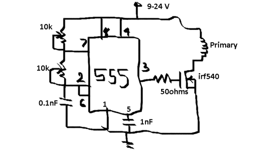 flyback driver schematic