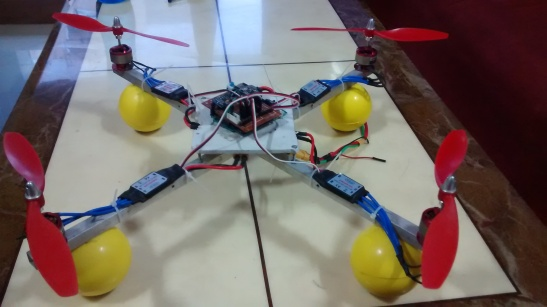 Quadcopter from scratch